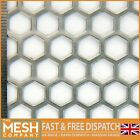 11mm Hole-14mm Pitch-1.5mm Thickness - Hexagonal Mesh - Mild Steel- Perforated