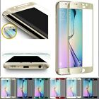 For Samsung Galaxy S6 Edge 9H Plating Full Cover Tempered Glass Screen Protector