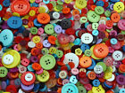 100grams MIXED BUTTONS,ASSORTED BUTTONS WOOD PLASTIC TOY CRAFTS BUY 10 PAY FOR 5
