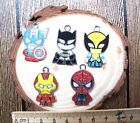 New avengers Enamel Metal Charms Jewelry Making Pendants