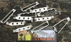 ✤ 5 or 25 SILVER BROOCH + BLANKS SAFETY CLASPS PIN - JEWELLERY FINDINGS 25MM