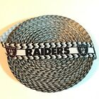"7/8"" Oakland Raiders Chevron Border Grosgrain Ribbon by the Yard (USA SELLER) $4.95 USD on eBay"