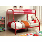Shyful Planes Twin-Over-Full Dual-Sided Bunk Bed