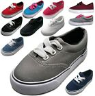 Baby Toddler Infant Canvas Lace Up Sneaker Shoe Size 4 to 9 Boys Girls Unisex