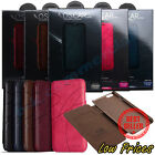 KLD Oscar Luxury Wallet Flip Leather Case Cover for Apple iPhone 6/6S and PLUS