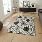 MEDIUM MODERN LARGE GREY 1-2 CM THICK HONG KONG ACRYLIC BEST QUALITY RUGS