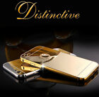 Luxury Aluminum Ultra-thin Mirror Metal Case Cover Skin for iPhone 5/5s/6/6 Plus
