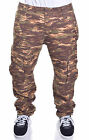 Ecko Unltd. Men's Tiger Camo Print Slim Fit Cargo Pants