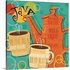 funky canvas art - Premium Thick-Wrap Canvas Wall Art entitled Funky Brew IV