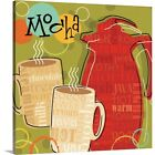 funky canvas art - Premium Thick-Wrap Canvas Wall Art entitled Funky Brew II