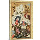 """Canvas Art Print """"Prince visiting an Ascetic, from 'The Book of Love', Safavi"""