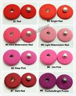 Sewing fabric covered Popper Metal snap Fasteners Buttons Press 11-25mm 10 sets