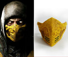 Halloween The Movie Mortal Kombat Scorpion Cosplay Mask Pvc Material