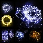 2M String Fairy Lights AA Battery Operated Copper Wire Christmas Party Wedding