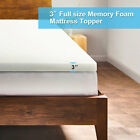 3 Inch Uenjoy Comfort Memory Foam Mattress Topper - Twin Full Queen King