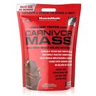 isolate proteins - MUSCLEMEDS CARNIVOR MASS (10 LB) beef protein isolate gainer powder + Ships Free