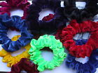 COLOUR SELECTION VELVET HAIR SCRUNCHIE Leotard gymnastics dance