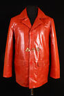 Fight Club Red Mens New Casual Stylish Real Lambskin Leather Blazer Jacket