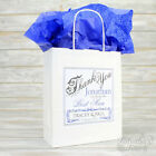 Personalised Christening Gift Bag or Box with Tissue Paper | Godmother Godfather