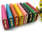 Hot Lady Faux Leather Wallet Clutch Long Handbag Phone Case for Iphone 4,4S,5