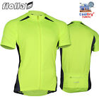 FIOLLA Cyclo-Dri Short Sleeve Mens Cycling Jersey Hi Viz Full Zipper - SECONDS
