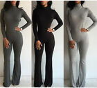 Sexy Womens Long Sleeve Bodycon Clubwear Party Jumpsuit Romper Trousers Pants
