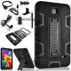 "For Samsung Galaxy Tab 4 7.0""/ 7-inch T230 Tablet Armor Rugged Cover Hard Case"