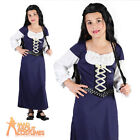 Child Maid Marion Costume Girls Medieval Book Week Day Fancy Dress Outfit Kids