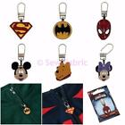 Superhero Jacket Zipper Puller Tag - Superman Batman Spiderman & Disney Zip Pull