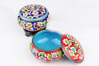 Exotic Chinese 100%Handmade Vintage Cloisonne Storage Tank Jewerly Box Gift Box