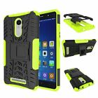 Xiaomi Redmi Note 3 Dual Layer Shockproof Cover Hybrid Rugged Case w/ Kickstand