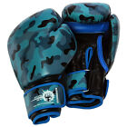 Tayga - Genuine Leather Gel Boxing MMA Bag Gloves by  Eclipse Gear