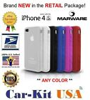 Marware SportGrip Skin Case for the Apple iPhone 4 / 4s **ANY COLOR**