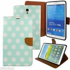 """Slim Leather Smart Cover Stand Case For Samsung Galaxy Tab S 8.4"""" SM-T700 POLKA"""