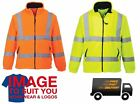 PORTWEST HI-VIS FLEECE JACKET WORK HIGH VISIBILITY HI VIZ SAFETY