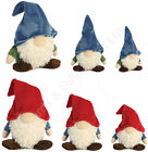 "Aurora Gnome Soft Toy Toys 16"" 11"" 7.5"" Garden Blue Red Green"