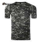 Airsoft Tactical Quick Drying T-shirt Military Paintball Shirt ACU S-XXL