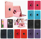 Canvas 360 Degree Rotating Smart Stand Case Cover for Apple iPad Air 1 9.4 inch