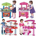69PC LARGE CHILDRENS KIDS KITCHEN COOKING ROLE PLAY PRETEND TOY COOKER GAME SET