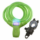 Lumintrail Bike Combination Cable Lock LED Mounting Bracket + Free Bike Light