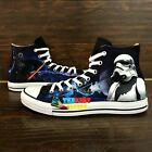 CONVERSE All Star STAR WARS movie hand painted shoes zapatos scarpe $139.0 USD