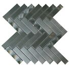 Stainless Steel 3D Interlocking Mosaic Tile for Backsplash  Accent Walls