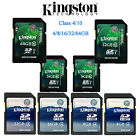 Original Kingston SD C4/10 4GB 8GB 16GB 32GB 64GB SDHC SDXC Camera Memory Card E
