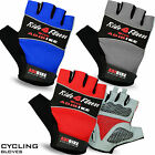 Men Cycling Gloves Fingerless Half Finger Bike Bicycle Sports Padded Adibike