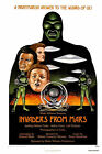 Invaders from Mars 1953 vintage classic sci-fi movie film Men's T SHIRT