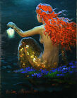 Home Decor HD Prints oil painting on canvas art for living room Mermaid NVN40