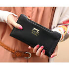 6 colors Women Leather Clutch Wallet Long Card Holder Case Purse Handbag
