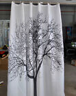 180*180cm Tree Dolphine Duck Waterproof Bath Fabric Shower Curtain With 12 Hook