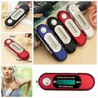 US Portable USB 2.0 Digital MP3 Music Player LCD Screen FM Radio Support TF Card