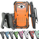 Shockproof Rugged Hybrid Hard Case Protective Cover With Bel